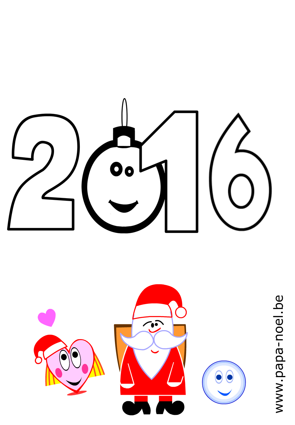 Dessins De Noel Coloriages De Noel Mots Bonne Annee Nouvel An